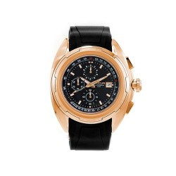 M.O.A MEN'S TEKTONITE CHRONOGRAPH STAINLESS STEEL BLACK / BRONZE KM1715-1405 WATCH image here