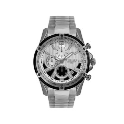 M.O.A MEN'S HELMSMAN CHRONOGRAPH STAINLESS STEEL SILVER/BLACK/WHITE KM1716-1103 WATCH image here