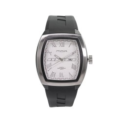 M.O.A MEN'S OBTUSE ANALOG STAINLESS STEEL BLACK/SILVER/WHITE KM1886-1501 WATCH image here