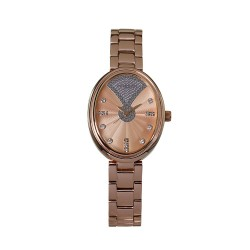 M.O.A LADIES' FABERGE BELLISIMA ANALOG STAINLESS STEEL ROSE GOLD / SILVER KM1853-2404 WATCH image here