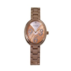 M.O.A LADIES' FABERGE FANTASIA ANALOG STAINLESS STEEL ROSE GOLD / SILVER KM1854-2404 WATCH image here