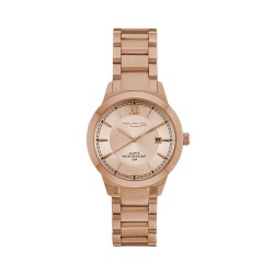 M.O.A UNISEX NOUVELLI  ANALOG STAINLESS STEEL  KM1899-5404 WATCH image here