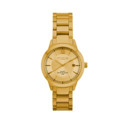 M.O.A UNISEX NOUVELLI ANALOG STAINLESS STEEL GOLD KM1899-7202 WATCH image here