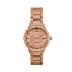 M.O.A UNISEX NOUVELLI  ANALOG STAINLESS STEEL ROSE GOLD KM1899-7404 WATCH image here