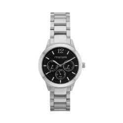 M.O.A UNISEX ALLEGRETTO ANALOG STAINLESS STEEL SILVER / BLACK KM1921-3102 WATCH image here