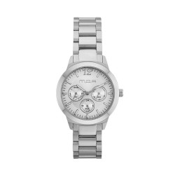 M.O.A UNISEX ALLEGRETTO ANALOG STAINLESS STEEL SILVER KM1921-5101 WATCH image here