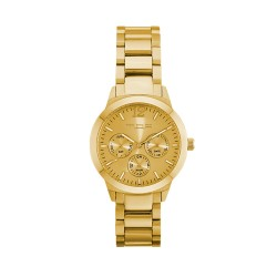 M.O.A UNISEX ALLEGRETTO ANALOG STAINLESS STEEL GOLD KM1921-7202 WATCH image here