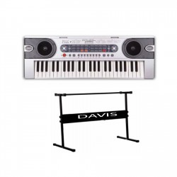 Davis D-4900 Digital Electronic Keyboard with Stand image here