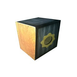 DAVIS BEAT BOX CAJON WITH PICKUP (BLACK)   image here