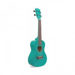 "23"" COLORED CONCERT SIZE UKULELE (GREEN)   image here"