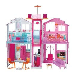 Barbie 3-Story Townhouse Playset image here