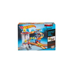 HOT WHEELS SPEEDTROPOLIS TRACK SET image here