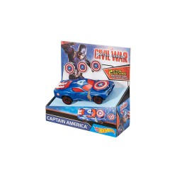 HOT WHEELS MARVEL LARGE SCALE FEATURE CARS  - CAPTAIN AMERICA image here