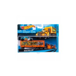 HOT WHEELS SUPER RIGS  - ROAD ROLLER 1 image here