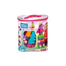 Mega Bloks Big Building Bag, 60-Piece (Pink) image here