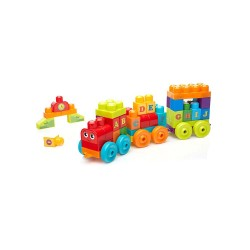 Mega Bloks® ABC Learning Train Building Set image here