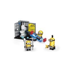 Megabloks Despicable Me 3-Minion Figure Pack - Minion Jail Break image here