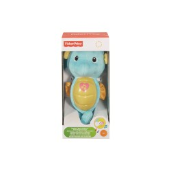 FISHER PRICE SOOTHE & GLOW SEAHORSE BLUE image here