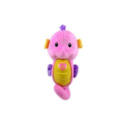 FISHER PRICE SOOTHE & GLOW SEAHORSE PINK image here