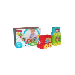 FISHER PRICE STACK N STROLL TRAIN image here