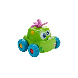 FISHER PRICE PRESS 'N GO VEHICLE - GREEN image here