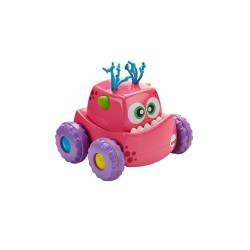 FISHER PRICE PRESS 'N GO VEHICLE - PINK image here