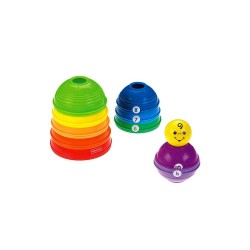 Fisher-Price Brilliant Basics Stack & Roll Cups image here