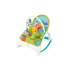 Fisher-Price Rainforest Friends Newborn-to-Toddler Portable Rocker image here