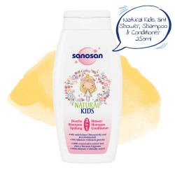 Sanosan 2-in-1 Shower & Shampoo for Girls 250ml,7SNI-9801 image here