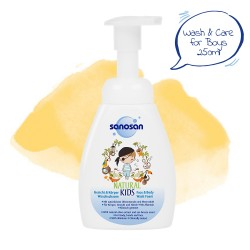 Sanosan Natural Kids Wash Foam for Boys 250ml,7SNI-9803 image here